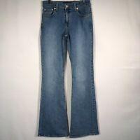 London Jeans Victorias Secret Stretch Bootcut Light Wash Flare Women's 2