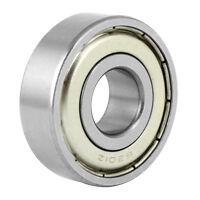 5x(6201Z Rillenkugellager, Metall, 12 x 32 x 10 mm, abgedichtet L4O6 D0Y4 T4S7