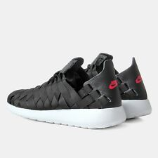 ⭐ Nike Roshe Run Woven size 7 Mens One Running Free Gym Black Trainer 90 Sneaker