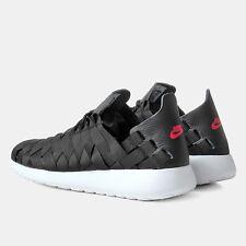 ⭐ Nike Roshe Run Woven size 7 Mens One Running Free Gym Black Trainer 90 Sneaker