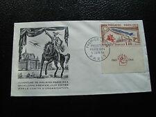 FRANCE - enveloppe 1er jour 5/6/1964 (philatec paris 1964)  (cy53) french