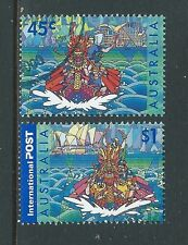 AUSTRALIA 2001 HONG KONG JOINT ISSUE FINE USED