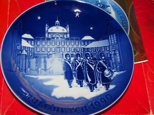 Bing & Grondahl Christmas Plate 1990 Changing of the Guards New In Box w/COA