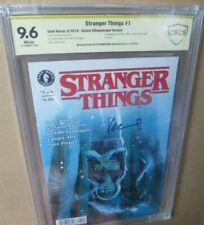 STRANGER THINGS 1 9.6 signed Keith Champagne