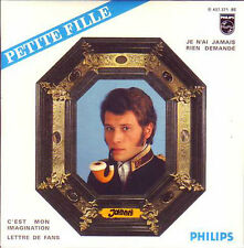 CD Single Johnny HALLYDAY	Petite fille 4-track EP REPLICA CARD SLEEVE 9838016 N