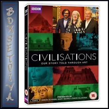 CIVILISATIONS - BBC SERIES - OUR STORY TOLD THROUGH ART **BRAND NEW DVD