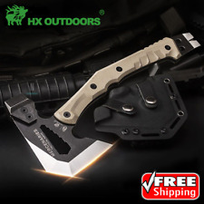 HX OUTDOORS Tomahawk Tactical Axe Hatchet Engineer Army Camping Survival Hunting