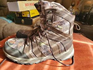 RedHead Timbertrek 400 BONE-Dry Insulated Waterproof Hunting Boots for Men 10M