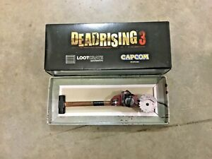 Dead Rising 3 Loot crate, sledge saw hammer pen! NIB, FREE shipping