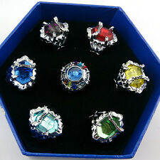 Anime Hitman Reborn Vongola family 7 keepers' rings kit/Sawada Tsunayoshi's ring