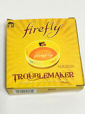 QMx FIREFLY Serenity TROUBLEMAKER Ceramic Pet Food Bowl Dish Loot Pets Crate
