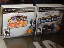 2 SONY PSP Games: ModNation Racers / Motor Storm: Arctic Edge (Sony PSP) NEW!