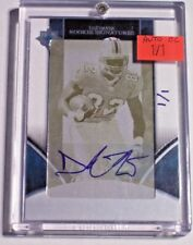 06 Ultimate Collection Printing Plate Rookie Autograph Derek Hagan 1/1 Dolphins