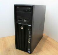 HP Z420 Workstation Windows 10 Tower PC Intel Xeon E5 1620 3.6GHz 16GB 1TB HDD