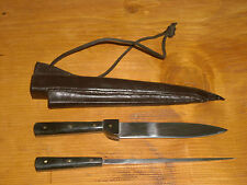 Mittelalterliches Tafelmesser mit Essdorn Mittelaltermesser