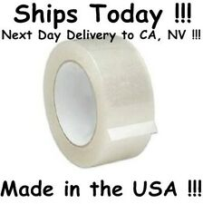 """6 Rolls 2"""" Clear Packing Shipping Box Tape *2mil 110yd*"""