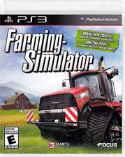 Farming Simulator New Playstation3