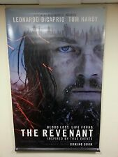 Very large movie banner / poster - The Revenant (Leonardo DiCaprio) 240 x 150cm.