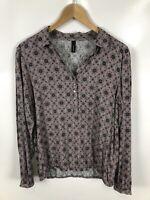 SOYACONCEPT Damen Bluse/Shirt, Größe M, Mehrfarbig, mit Muster, locker