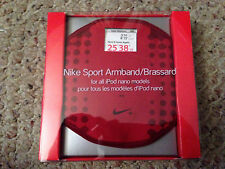 Nike+ Sport Armband red with Window for 1st + 2nd Generation Apple iPod NANO