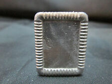 Dollhouse Miniature Unfinished Metal Table Frame #7