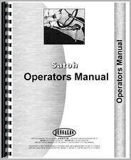 New Satoh Tractor Operators Manual (Bull)