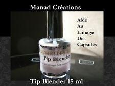 tip blender gel uv ou resine acrylique capsules tips faux ongles false nail art