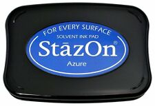 StazOn Solvent Ink Pad AZURE SZ-95 Tsukineko Sealed! Brand NEW!