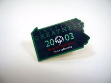 Collectible Pin: 2003 Special Olympics Pennsylvania Inspire Greatness