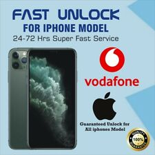 VODAFONE IPHONE UNLOCK SERVICE - I Phone 8,8 PLUS,7,7 PLUS,6S,SE  ✅Super Fast