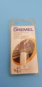 "Dremel 422 Felt Polishing Point Cone 3/8"" Attachment NEW Sealed Blister pack NIP"