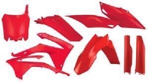 Acerbis Full Complete Plastic Kit Honda Red CRF250R/450R 2013-2017