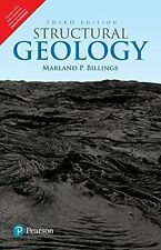 New - Structural Geology by Marland P. Billings 3rd INTL ED