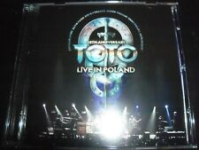 Toto Live In Poland (35th Anniversary) (Shock Australia) 2 CD – New (Not Sealed