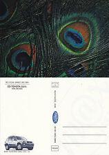2001 TOYOTA RAV4 ADVERTISING UNUSED COLOUR POSTCARD (a)