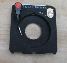 Linhof IV 4 V  69 6x9 Technika recessed Lens board  for compur 00 centre