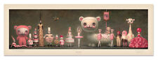 Princess Praline and Her Entourage Lithographic Poster Print Mark Ryden Signed