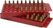Mtm Universal Two Sided Ammo Loading Tray Red for 17 48 9 38 45 Caliber Cal