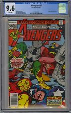 Avengers #157 CGC 9.6 NM+ Wp Marvel Comics 1977 Iron Man Vision Jack Kirby Cover