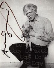 Andy Warhol signed Self Portrait 8X10 photo picture poster autograph RP
