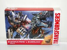 Transformers Optimus Prime and Grimlock Platinum Edition Age of Extinction MOC