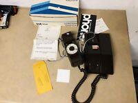 Vintage NOS Rotary Dial Phone Northern Telecom Contempra Rare Brown OLD Vgt