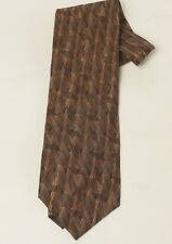 Martin Wong Screenplay Neck Tie Excellent Condition 4 Inches Browns