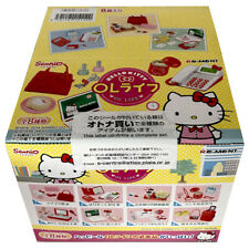 Rare 2014 Re-Ment Hello Kitty Office OL Life Full Set of 8 pcs