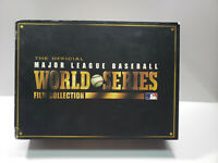 THE OFFICIAL MLB WORLD SERIES 1943-2008 Baseball FILM COLLECTION 20 DVD SET