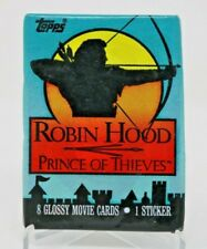 Robin Hood Prince of Thieves Trading Card Sealed Pack Lot of 6 NIP