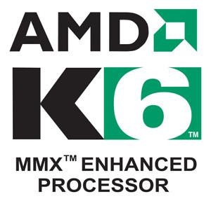 VINTAGE Processeur AMD K6-3 400 Mhz AHX Socket 7