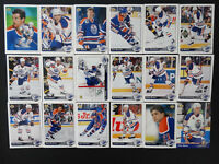 1992-93 Upper Deck UD Edmonton Oilers Team Set of 18 Hockey Cards Missing 4 Card
