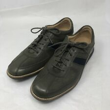 Cole Haan Grand.OS Sneakers Green Leather Men's Shoes Size 7.5 M
