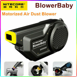 Nitecore BlowerBaby Motorized Electronic Camera Air Dust Blower Cleaning Cleaner